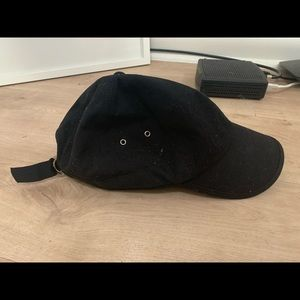 Black Shopbop baseball hat